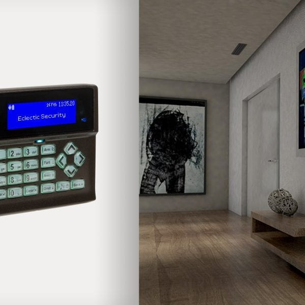 Orisec digital alarm control panel